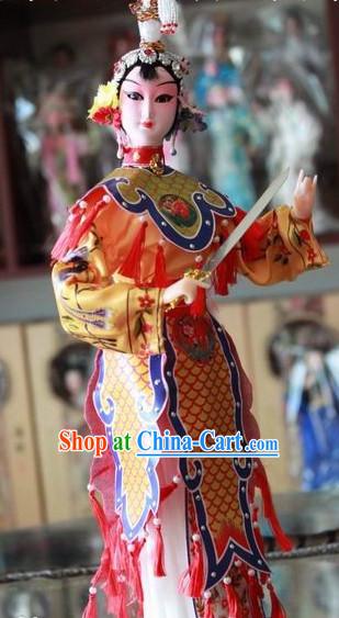 Handmade Traditional Chinese Beijing Silk Figurine - Yu Ji Empress