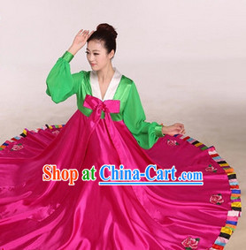 Korean Traditional Dance Costume Complete Set for Women