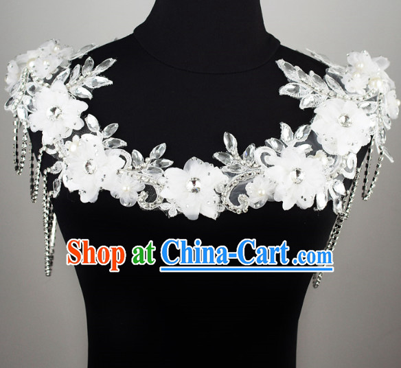 Chinese Classical Wedding Shoulder Decorations