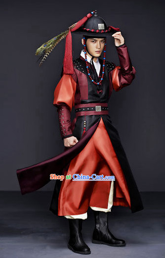 Traditional Korean Swordman Costumes