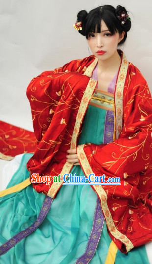 Han Dynasty Traditional Wedding Dresses for Women