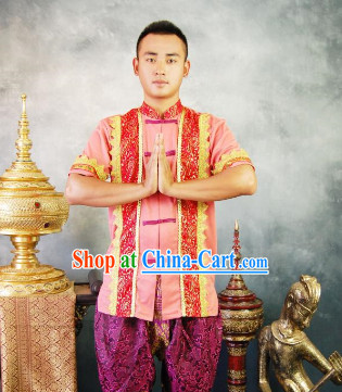Southeast Asia Traditional Suit for Men