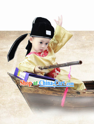 Traditional Official Costumes and Hat Complete Set for Kids