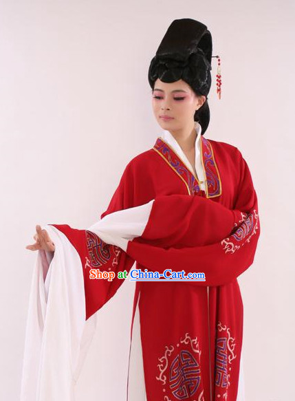 Asian Traditional Water Sleeves Costumes for Women
