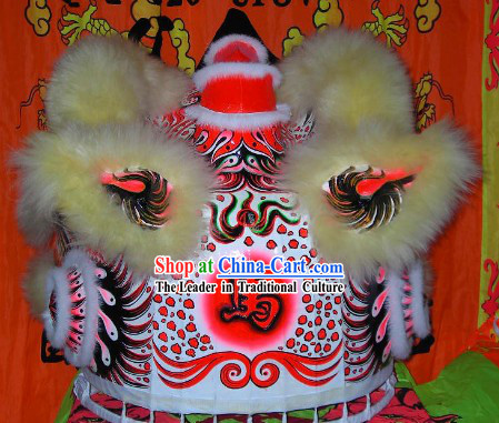 Horse Year Collectible Chinese Fut San Lion Dance Costumes Complete Set