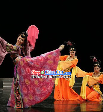 4 VCD Teaching of Chinese Classical Ancient Wide Sleeves Dance