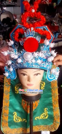 Asian Peking Opera Wusheng Hat Worldwide Delivery