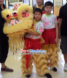 Supreme School Students Lion Dance Costumes Complete Set