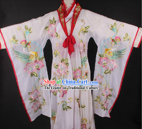 Ancient Chinese Empress Costumes with Long Trail