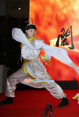 Traditional Water Ink Shui Xiu Dance Suit for Men