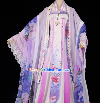 Ancient Chinese Tang Dynasty Imperial Royal Lady Dresses