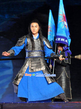 Ancient Chinese Kung Fu Swordsman Costumes Complete Set for Men