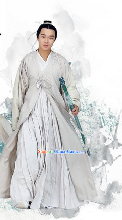 the Journey of Flower TV Drama Swordsman Costumes Complete Set for Men