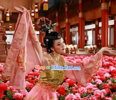 Tang Dynasty Beauty Ancient Dance Suit