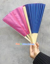 School Use Double Sides Dance Fan