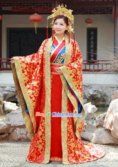 Ancient chinese clothing china dance costumes traditional for Traditional chinese wedding dress hong kong