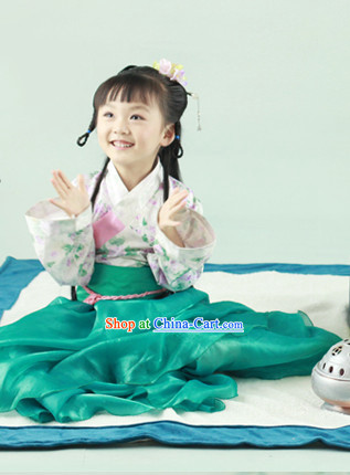 Chinese Traditional Hanfu Costume for Kids