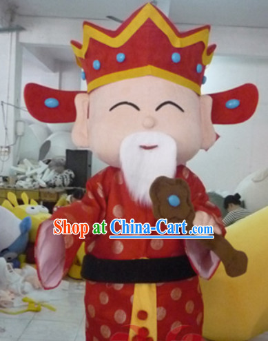 Chinese New Year Lu Xing Mascot Costumes Complete Set