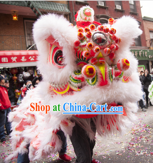 Chinese Classical Southern Lion Dance Costumes Complete Set