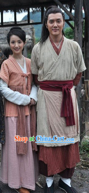 Chinese Civilian Hanfu Clothing for Men