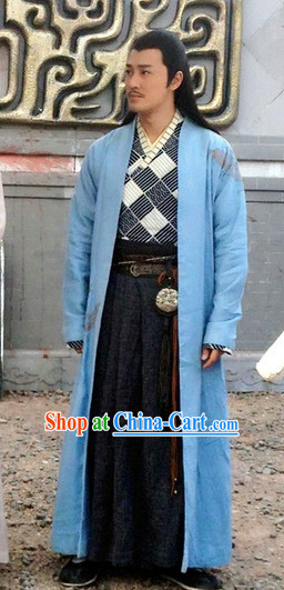 Ancient Chinese Adult Knight Costume for Men
