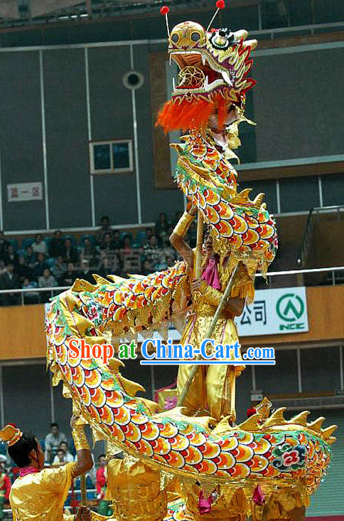 Top Shanghai Dragon Dance Equipment Complete Set