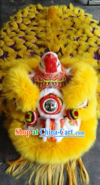 Top Chinese Lion Dancing Costume Complete Set