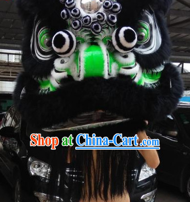 Zhang Fei Style Lion Dance Head for Sale Complete Set