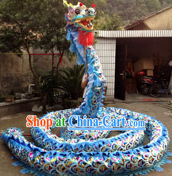 Chinese Traditional Dragon Dance Costumes Complete Set