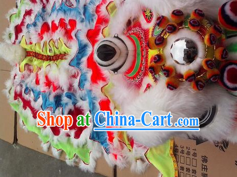 Asian Liiu Bei Lion Dancing Mascot Costumes Complete Set