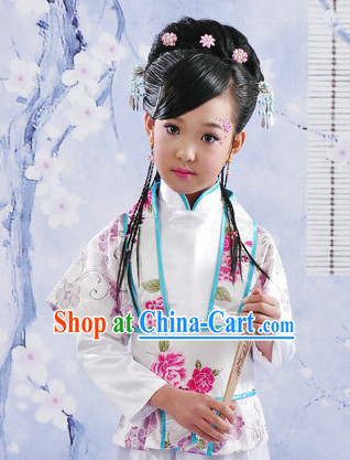 Lin Daiyu Ming Dynasty Outfit for the Little Girl