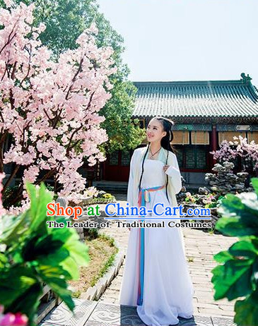 Chinese Ancient Knight Female Costumes Garment