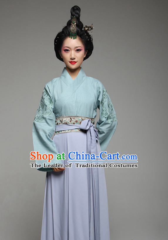 Chinese Ancient Costume and Hair Jewelry for Women