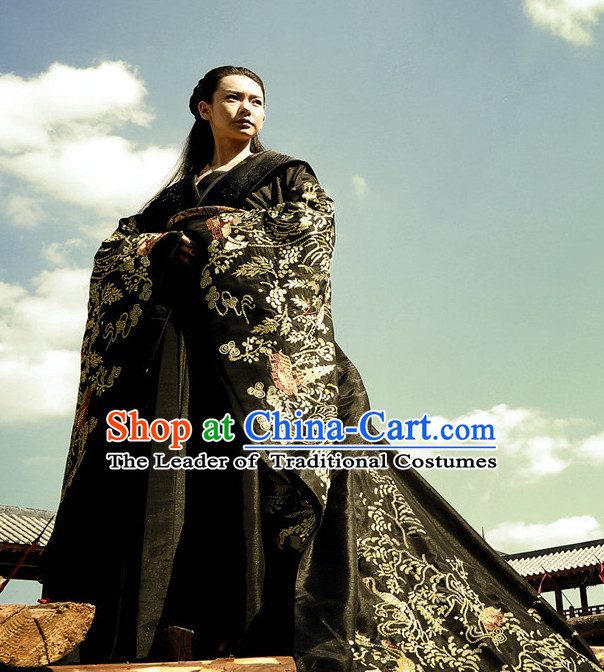Asian Chinese Ancient Empress Halloween Costume Cosplay Costumes Complete Set