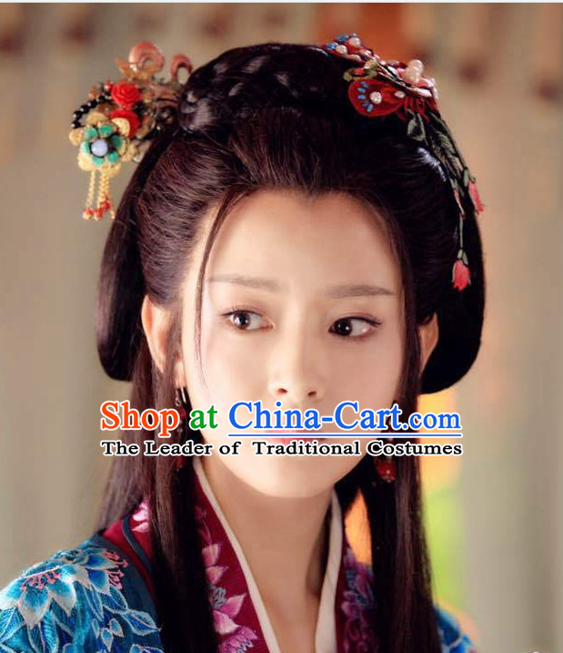 Ancient Chinese Beauty Hair Jewelry Set