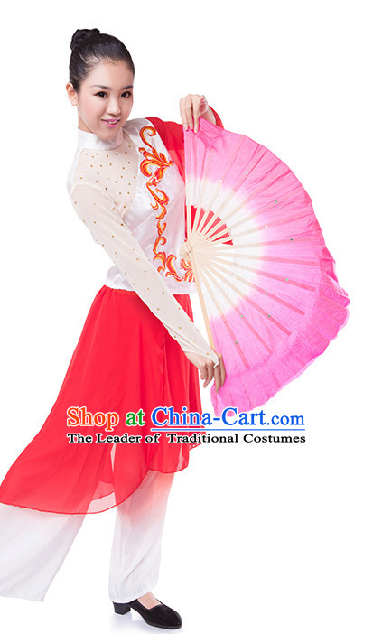 Festival Celebration Chinese Silk Dance Fan