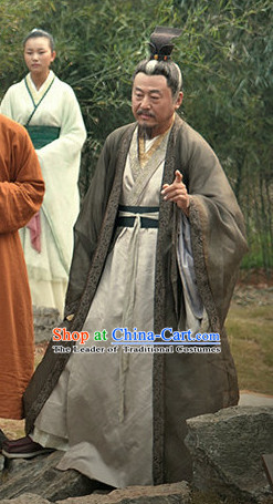 Chinese Costume Chinese Costumes National Garment Outfit Clothing Clothes Ancient Jin Dynasty Clothing for Men