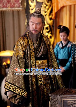 Chinese Costume Chinese Costumes National Garment Outfit Clothing Clothes Ancient Jin Dynasty Prime Minister Dresses