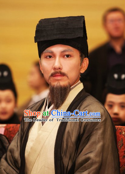 China Jin Dynasty Emperor Crown Hat for Men