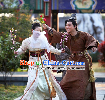Chinese Costume Five Dynasties Chinese Classic Men Dress Costumes National Garment Outfit Clothing Clothes
