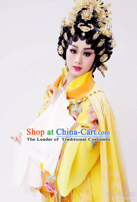Chinese Opera Ancient Palace Imperial Empress Head Wear Headdress Hair Accessories for Women