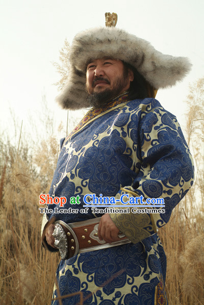 Tie Mu Zhen Yuan Dynasty Chinese Costume Complete Set for Men