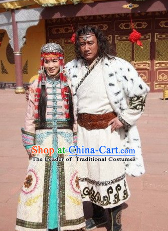 Emperor Taizu of Jin Founder and First Emperor of the Jin Dynasty Costume Costumes Dresses Clothing Clothes Garment Outfits Suits Complete Set for Men