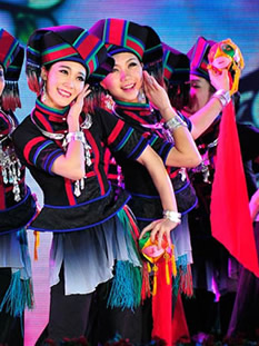 Zhuang Minority Costumes