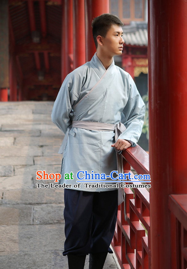 Tang Dynasty Ancient Chinese People Clothing Complete Set