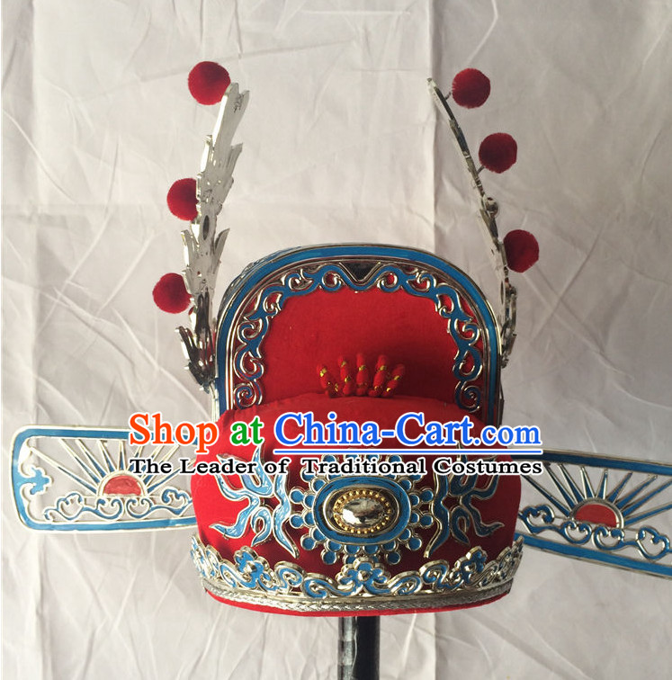Chinese Traditional Opera Wedding Hat for Men