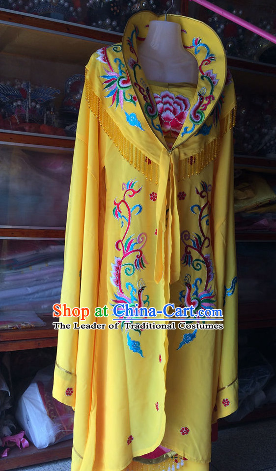 Chinese Opera Embroidered Empress Costume Traditions Culture Dress Masquerade Costumes Kimono Chinese Beijing Clothing for Men