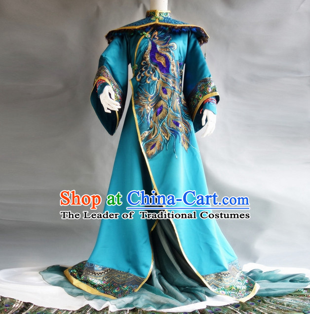 Chinese Classic Prince Peacock Costume Cosplay Complete Set for Men