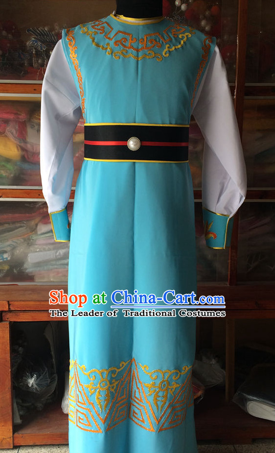 Chinese Opera Scholar Young Men Costumes China Costume Stage Dress Outfit Suits for Men