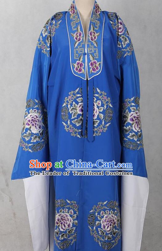 Chinese Opera Classic Embroidered Robe Costumes Chinese Costume Dress Wear Outfits Suits for Men